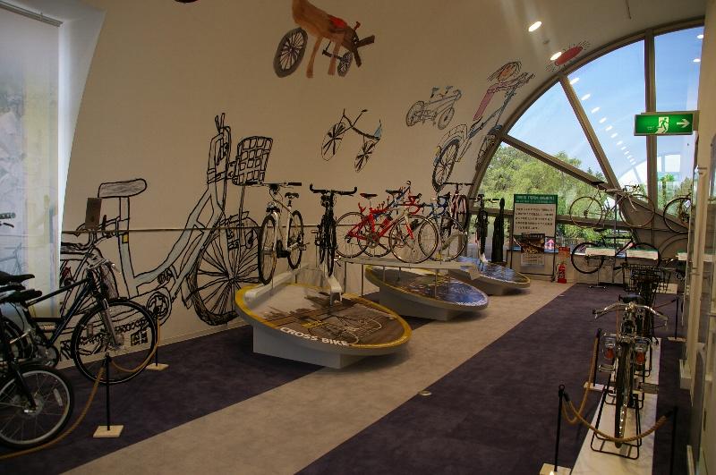 ... 、大仙公園、自転車博物館